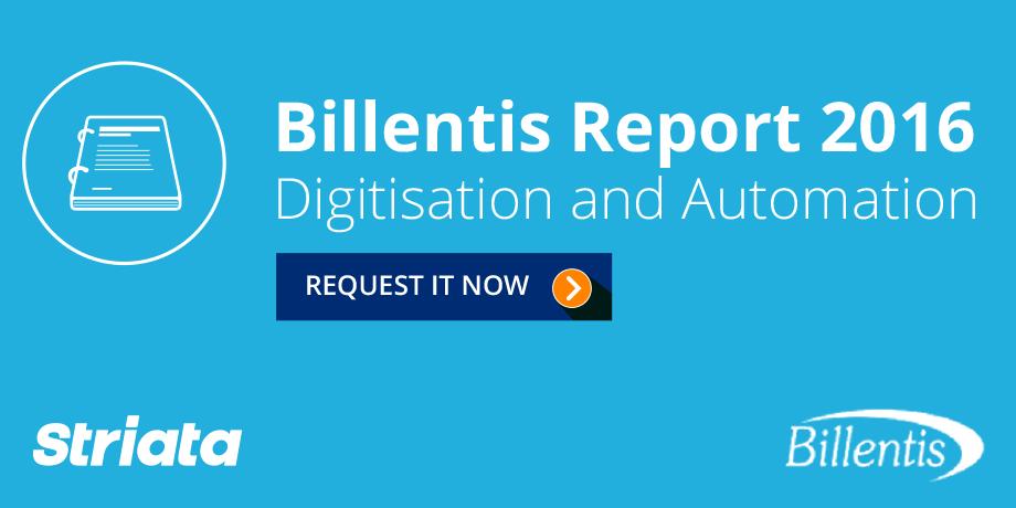 "Billentis Report 2016: e-Invoicing/e-Billing ""Digitisation & Automation"""