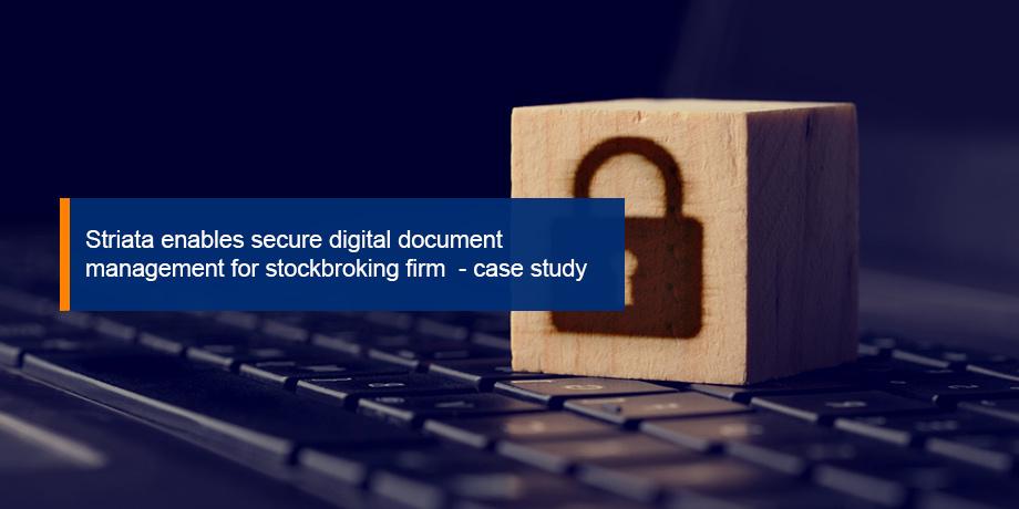 Striata enables secure digital communication solution for investor documents