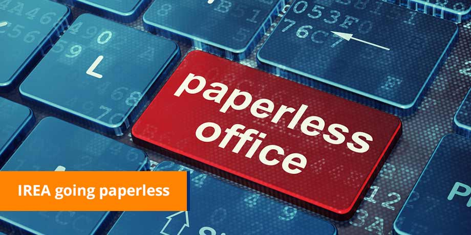 IREA turns off 17% of all paper bills in 12 months