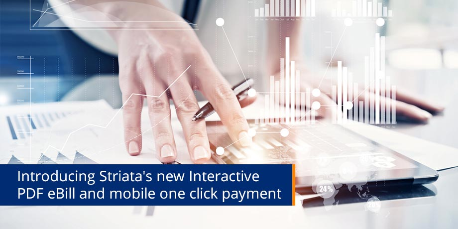 Striata continues to lead the market with innovative eBilling solutions