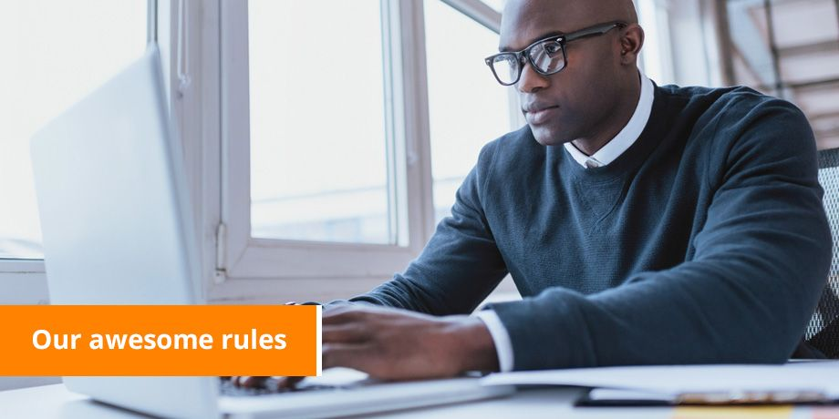 The 9 Big Rules that make our company Awesome