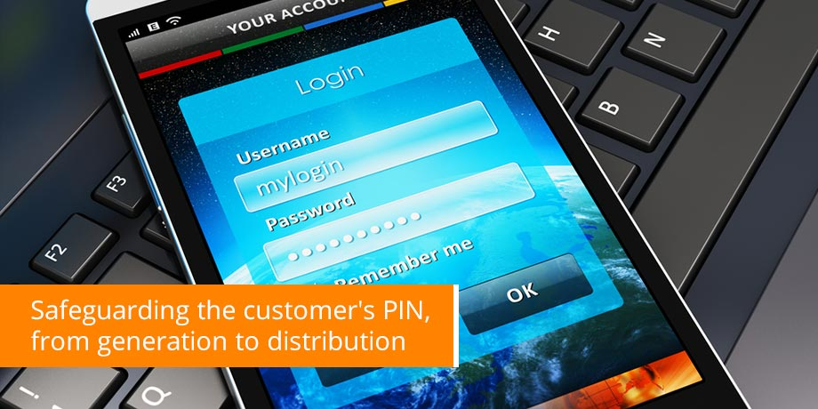 Striata ePIN - Securely delivering bankcard PINs electronic