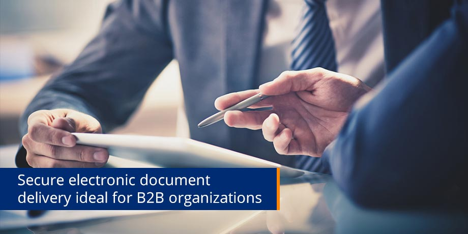 Paperless for B2B - it's a no-brainer