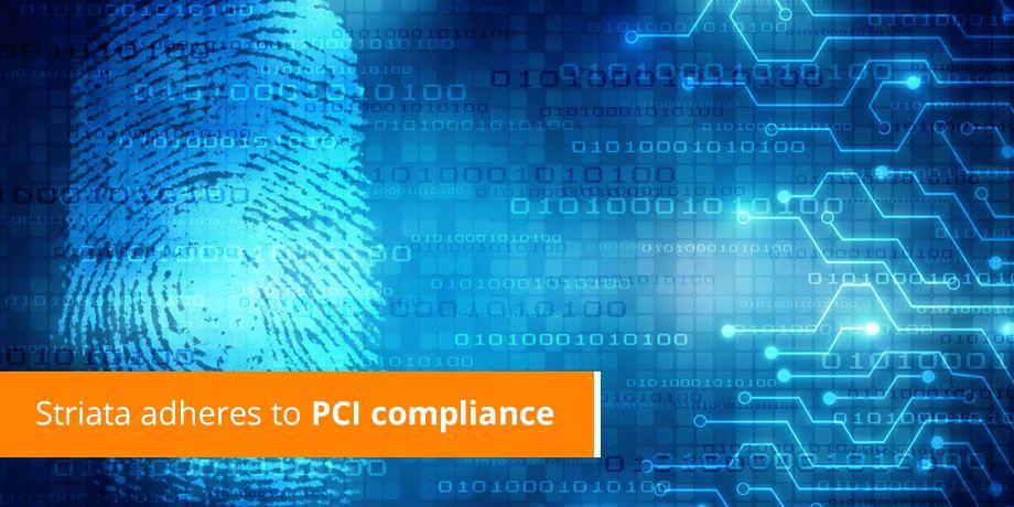 Striata UK announces PCI Compliance