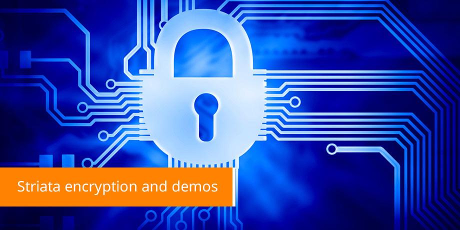 Striata Encryption Options for Email Billing