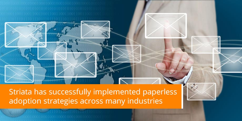 Paperless adoption services