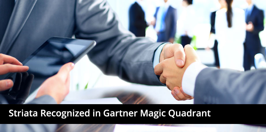 Striata recognized in Gartner Magic Quadrant for Customer Communications Management Software (2015)