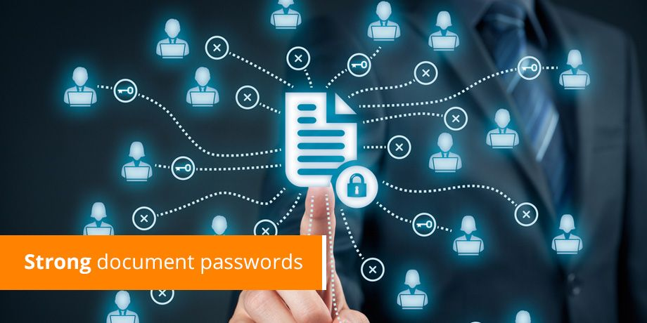 Your document password shouldn't be the weak link in your secure communication chain