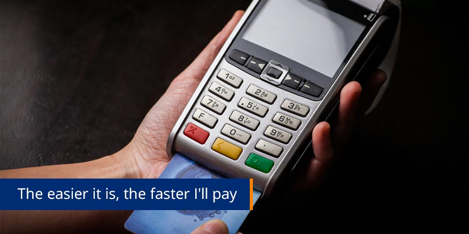 Dramatically faster electronic payments for Striata clients