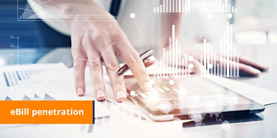eBill penetration - gaining significant customer adoption