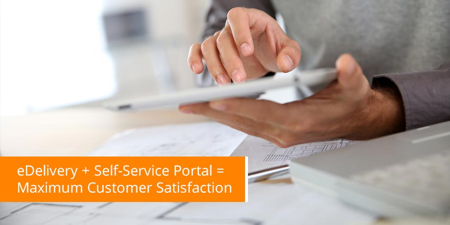 4 Strategies to achieve BOTH self service portal usage AND paper suppression