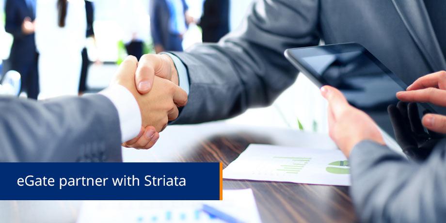 Striata signs e-Gate as partner
