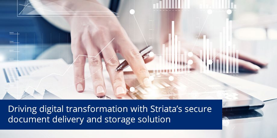 Striata converts complex investor communications from paper to digital for Glacier, by Sanlam