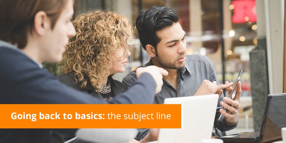 Changing the Subject: 4 Powerful Functions of a Subject Line