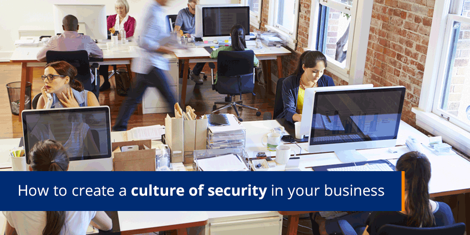 Does your organization have a culture of security?