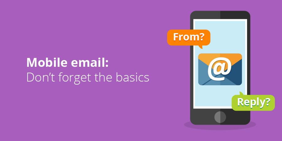 Have you considered the sender details?