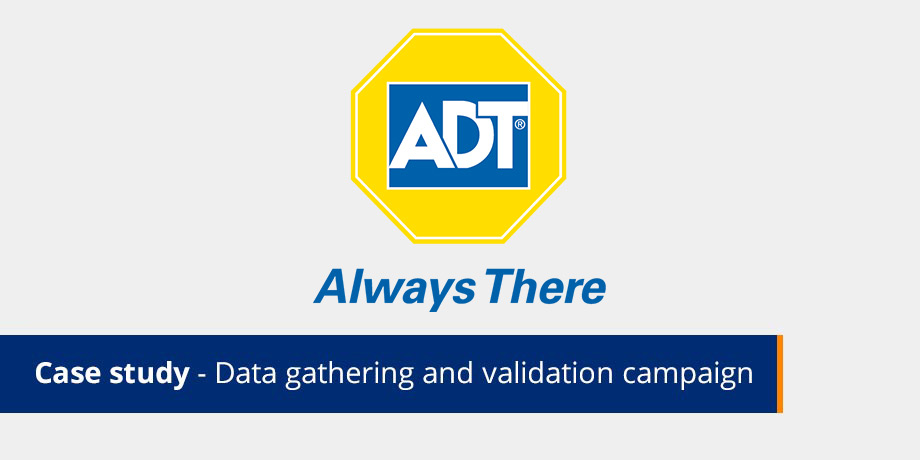 Striata assists security company, Fidelity ADT, with data gathering and validation campaign