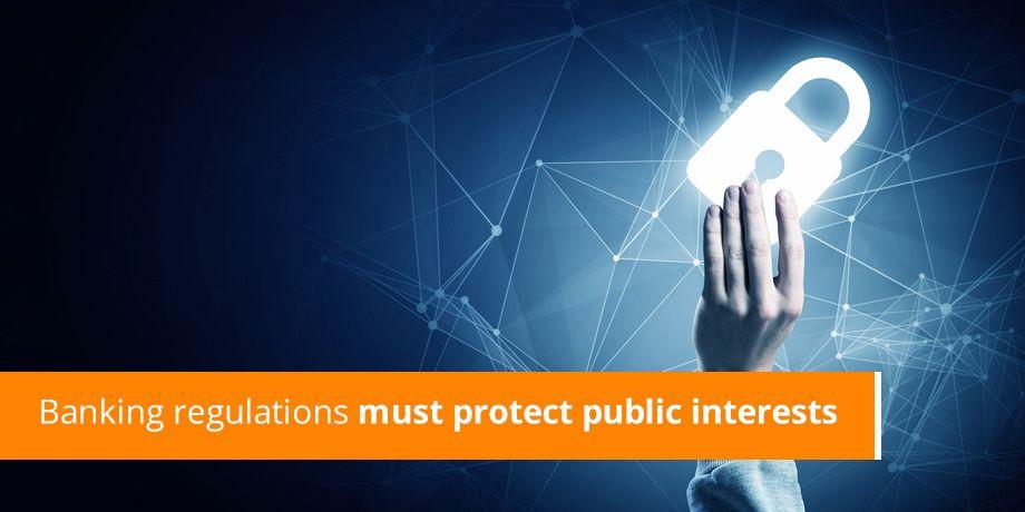 """Business Report: Banking regulations must protect public interests <i class=""""fa fa-external-link"""" aria-hidden=""""true""""></i>"""