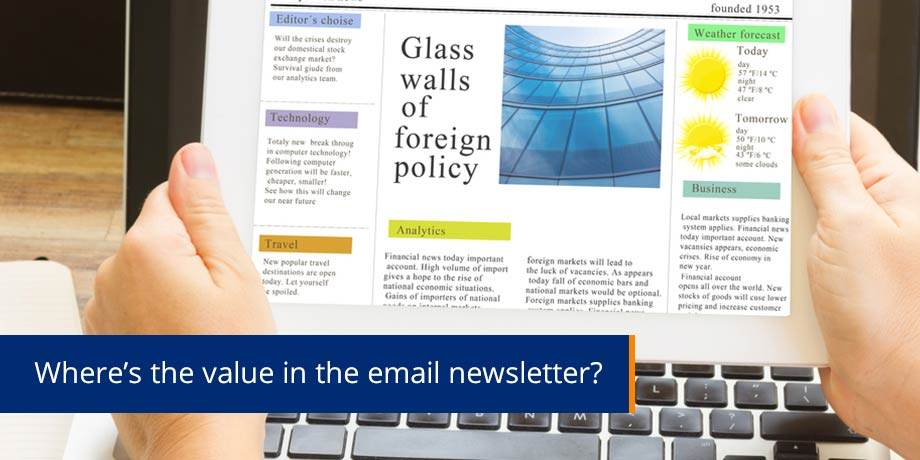 What is the true value of email?