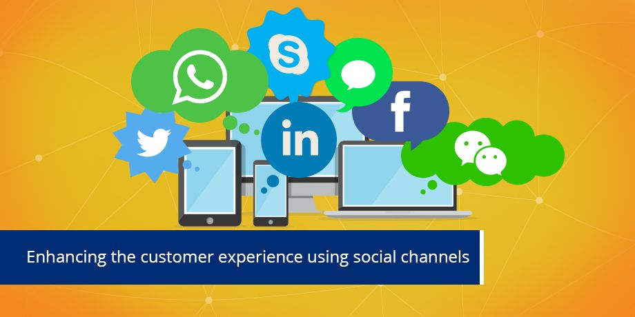 Enhancing the customer experience through social media and instant messaging apps